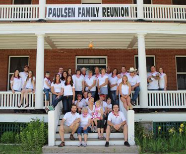 Paulsen Family Front Porch
