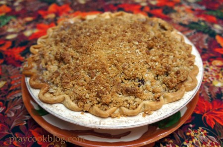 apple crumb pie whole