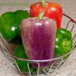 Green, Red, and Burpless Peppers