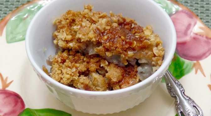 Alice's Apple Goodie Dessert