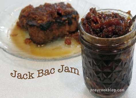 Steak with Jack Bac Jam