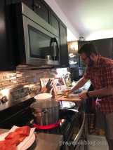 Cory Blue apron 2