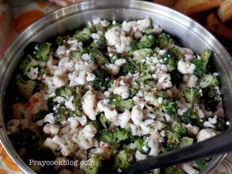 Ryan's veggie salad