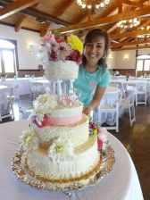 Abby wedding cake