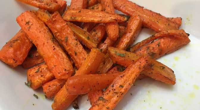 Fun Colors of Spring and Oven-Roasted Carrots