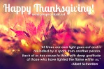 Happy Thanksgiving, to You and Your Loved Ones
