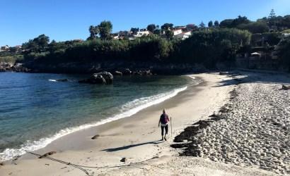 walk along the coast in portugal