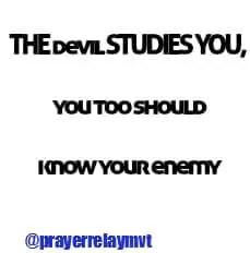 the devil studies you