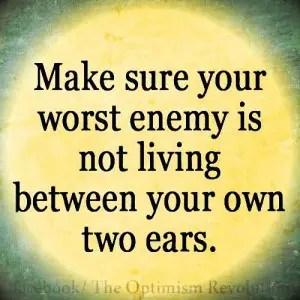 enemy of self