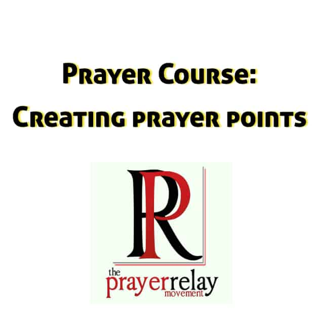 creating prayer points