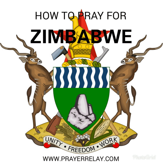 pray for Zimbabwe