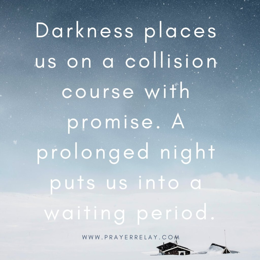 darkness places us on a collision course