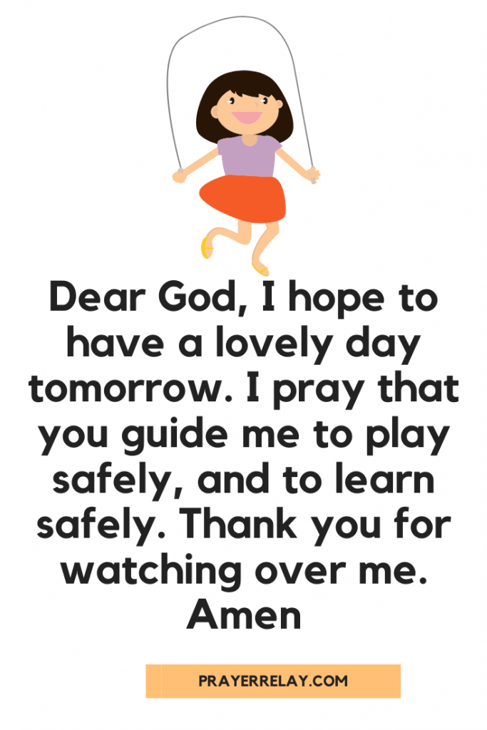 Bedtime Prayer for kids 2