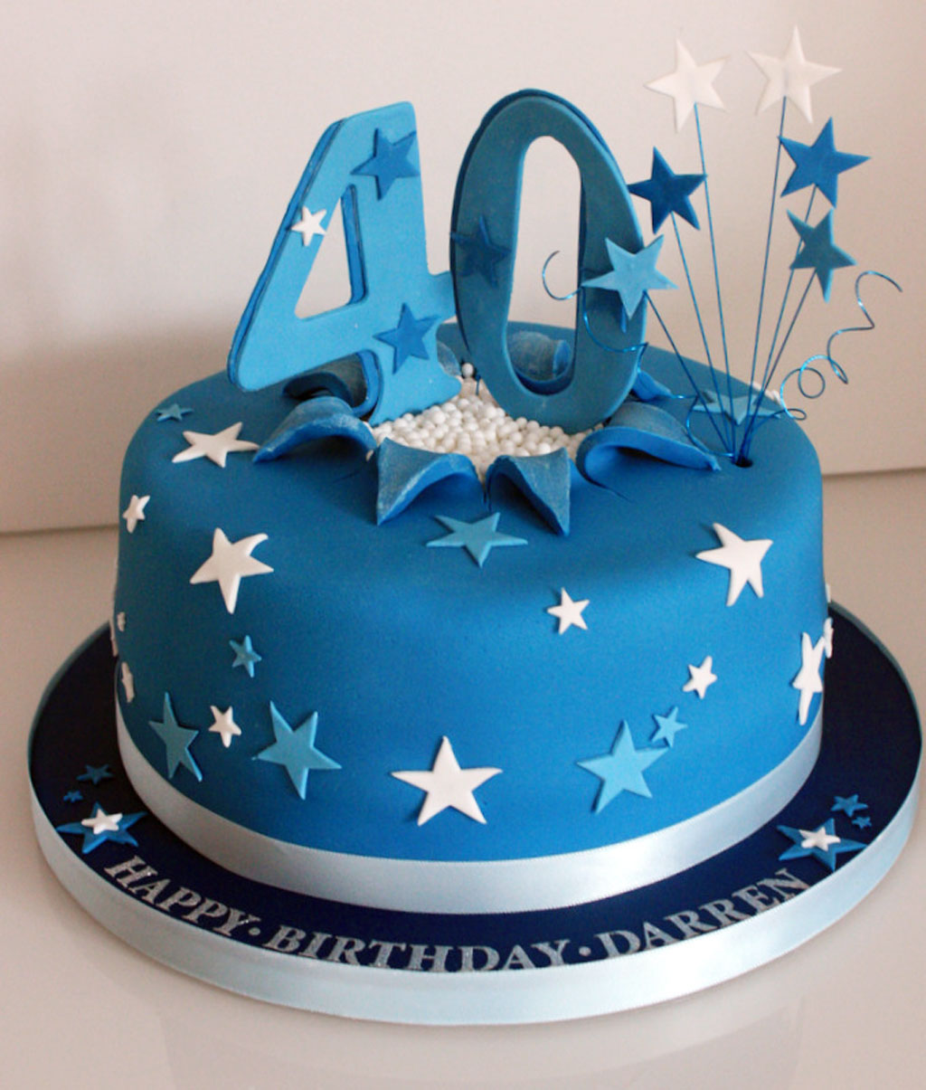 40th Birthday Cake Ideas Funny Birthday Cake