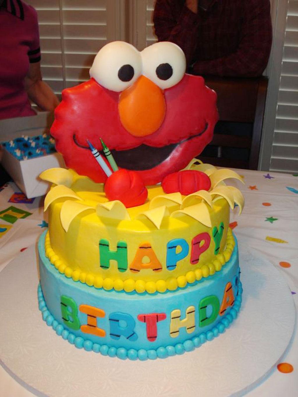 Elmo Birthday Cakes Design 2 Birthday Cake