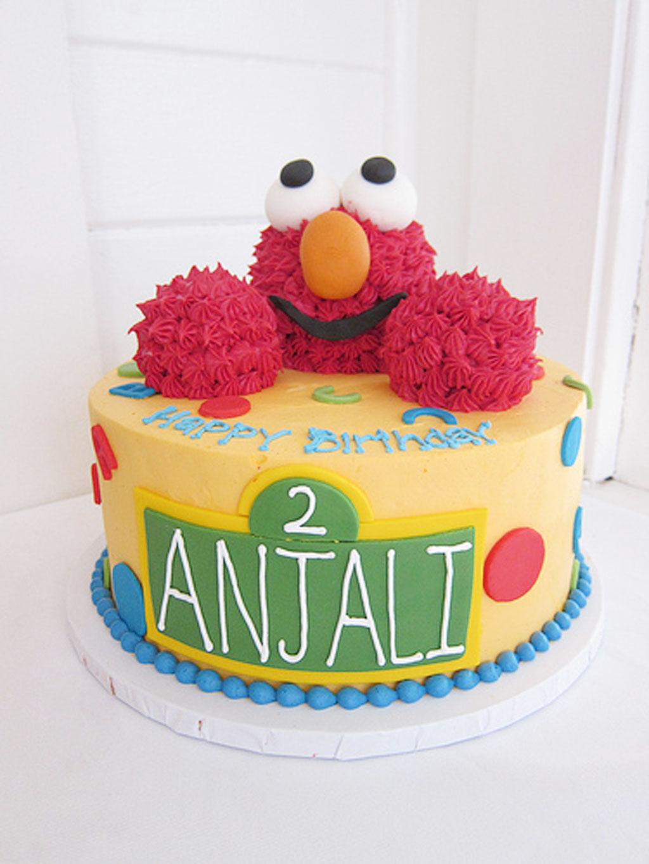 Elmo Birthday Cakes Design 4 Birthday Cake