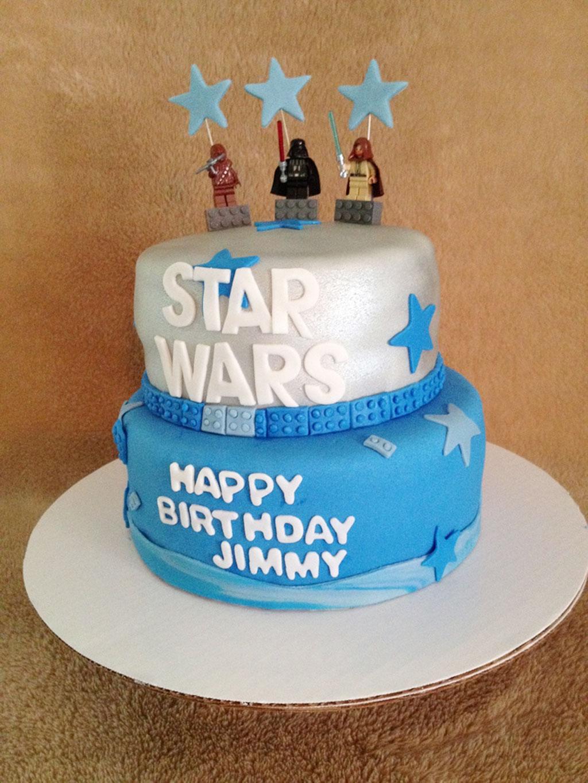 Star Wars Birthday Cakes For Kids Birthday Cake