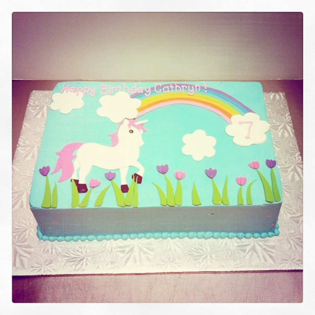 Unicorn Birthday Cake Birthday Cake