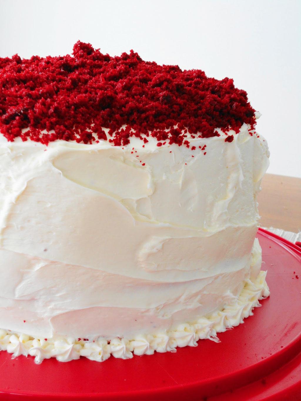Vanilla Bean Red Velvet Valentine Cake Valentine Cakes
