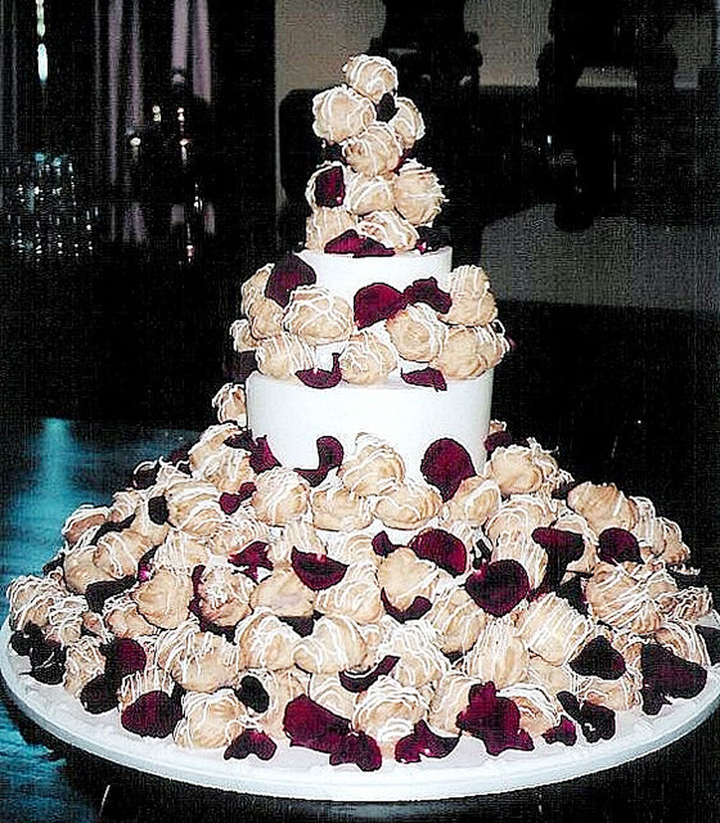 Cream Puff Wedding Cake Ideas Wedding Cake
