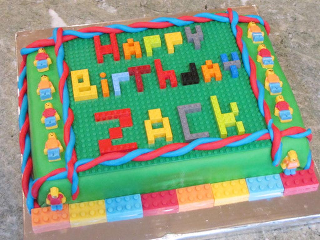Lego Birthday Cake Ideas For Boys