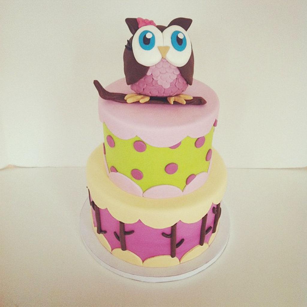 Owl Birthday Cakes Decorating Birthday Cake