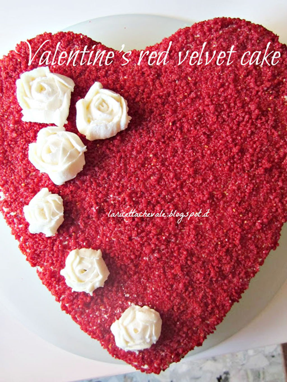 Valentines Red Velvet Cake Idea Valentine Cakes