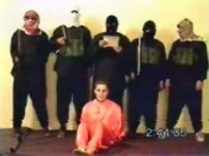 ISIS demonstrates a beheading. Pray their hearts will be transformed.