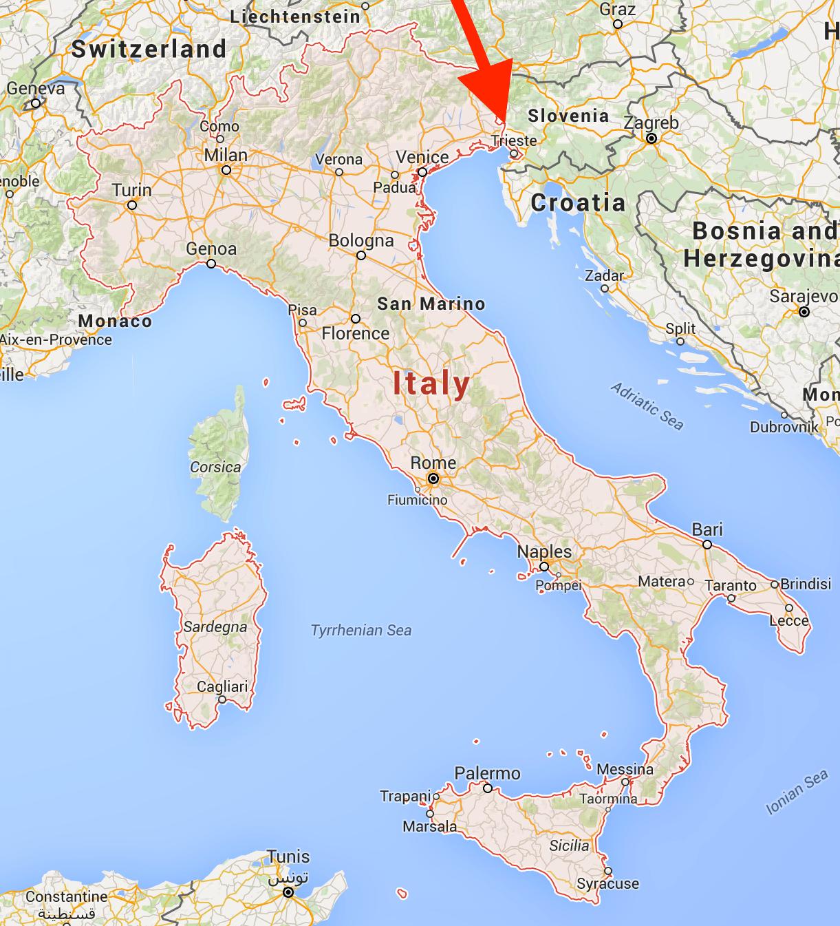 FAQ Trieste Italy Pray For Italy