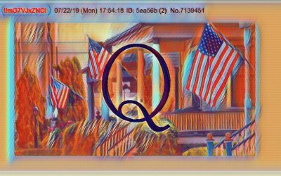 Qanon July 24 – Flags Out