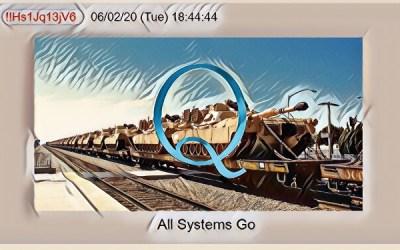 Qanon June 3, 2020 – All Systems Go