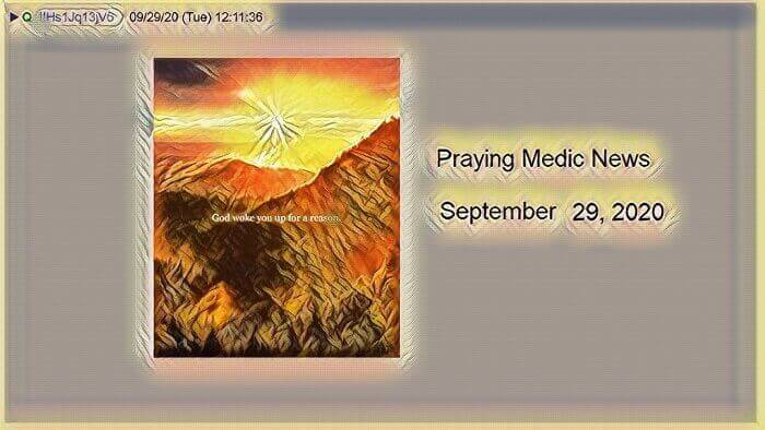 praying medic news sep 29 2020