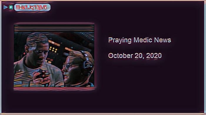 qanon praying medic