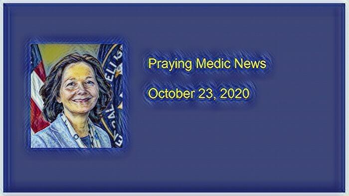 praying medic news qanon