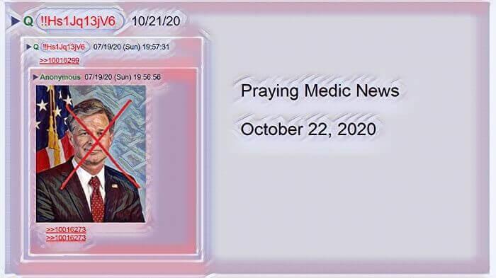 praying medic qanon
