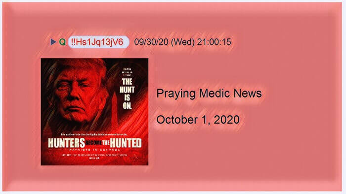 praying medic news october 1 2020