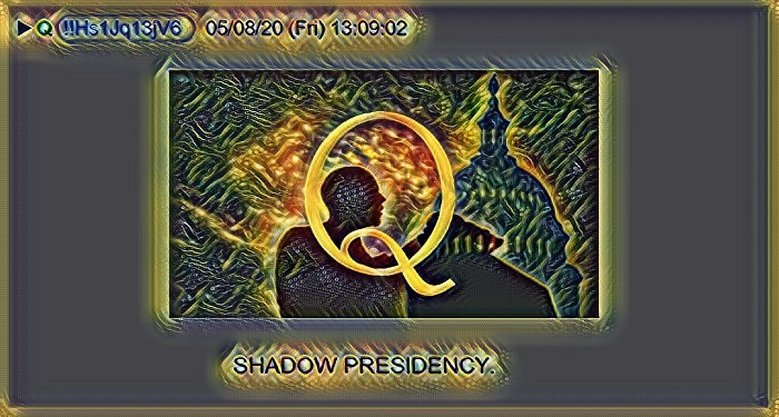 qanon shadow presidency praying medic