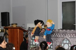 We're hoping that a puppet ministry can take off at the church soon.