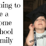 Planning to Be a Home School Family