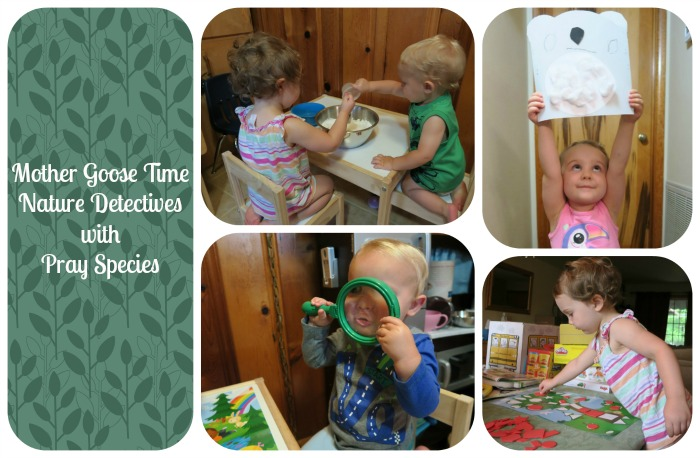 nature detectives collage
