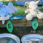 Feed the Elephants – Letter Leaf Game {FREE PRINTABLE LETTER LEAVES}