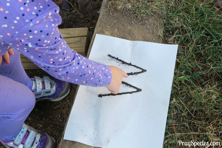 tracing-the-m-in-the-dirt