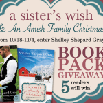A Sister's Wish and An Amish Family Christmas Book Pack Giveaway