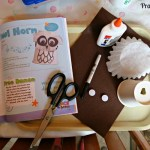 Owl Horn Preschool Craft