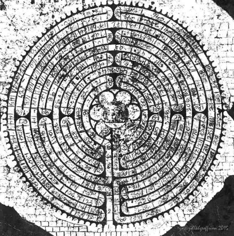 Numbering of stones of the Chartres Labyrinth by Jill K H Geoffrion