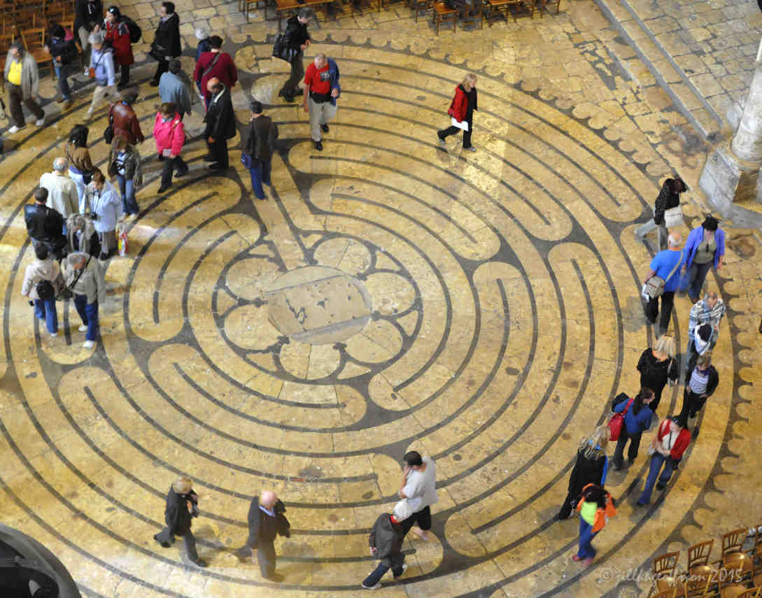 Mary and the chartres labyrinth pray with jill at chartres buycottarizona Image collections