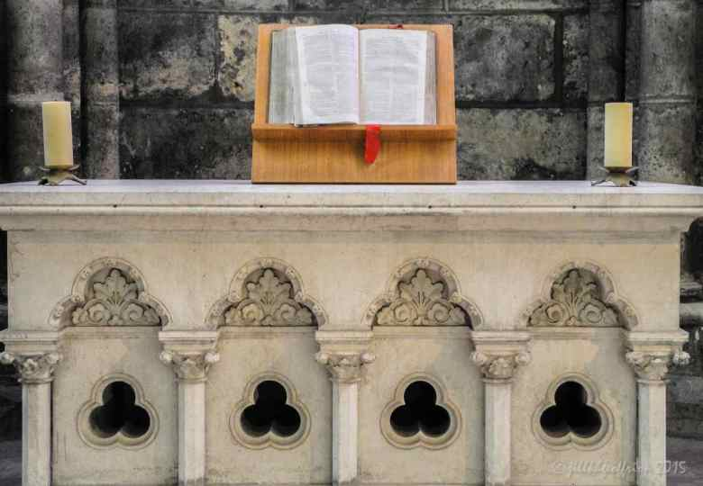 Protestant Bible offered to the Cathedral for the Ecumenical Chapel