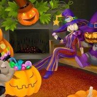 Игры и конкурсы на Хэллоуин для  детей и взрослых
