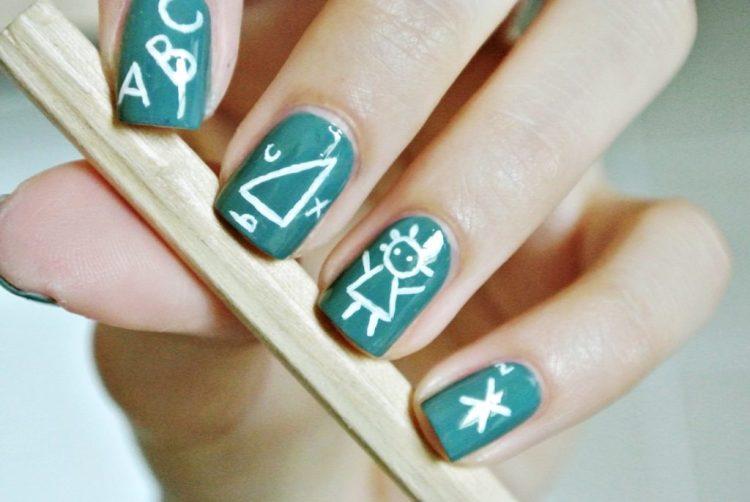 Идея оформления ногтей