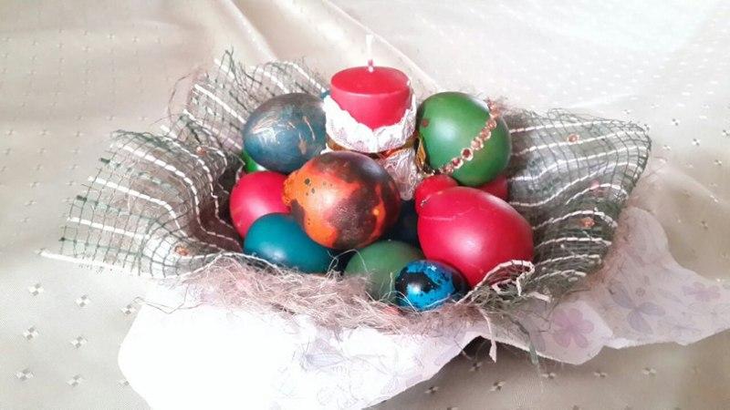 оригинально украсить яйца на пасху